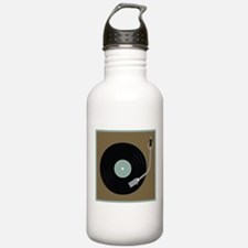 Record Player Water Bottle