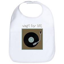 Vinyl For Life Bib