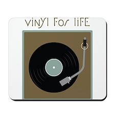Vinyl For Life Mousepad
