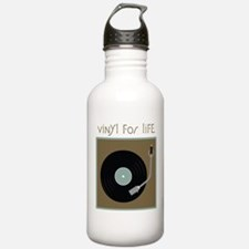 Vinyl For Life Water Bottle