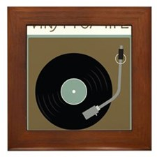 Vinyl For Life Framed Tile