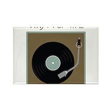 Vinyl For Life Rectangle Magnet
