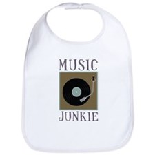 Music Junkie Bib