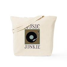 Music Junkie Tote Bag