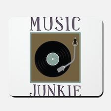 Music Junkie Mousepad