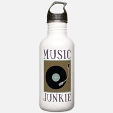 Music Junkie Water Bottle