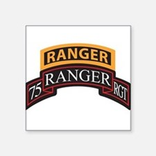 75 Ranger RGT scroll with Ran Rectangle Sticker