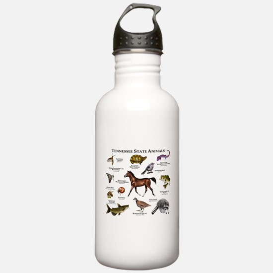 Tennessee State Animals Water Bottle