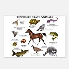 Tennessee State Animals Postcards (Package of 8)