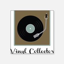 "Vinyl Collector Square Sticker 3"" x 3"""