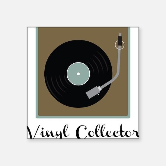 """Vinyl Collector Square Sticker 3"""" x 3"""""""