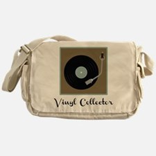 Vinyl Collector Messenger Bag