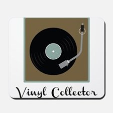 Vinyl Collector Mousepad