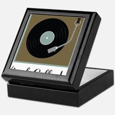 Vinyl Collector Keepsake Box