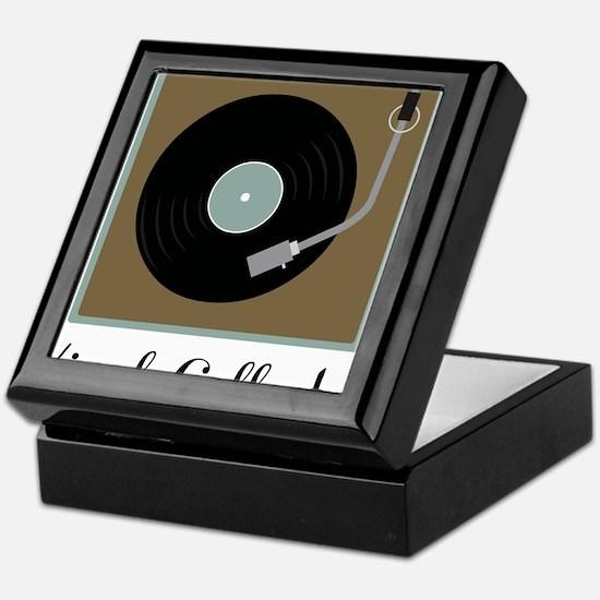 Vinyl Collector Keepsake Box