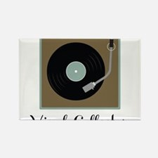 Vinyl Collector Rectangle Magnet