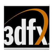 3dfx Interactive Inc Corporate Logo Tile Coaster