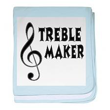 Treble Maker baby blanket