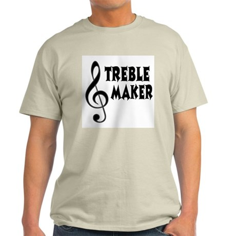 treble maker t shirt by shakeoutfittersmusic