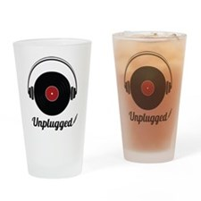 Unplugged Drinking Glass