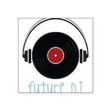 "Future DJ Square Sticker 3"" x 3"""