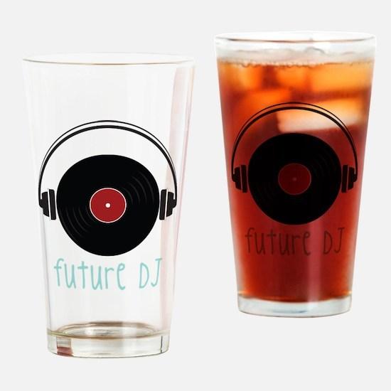 Future DJ Drinking Glass