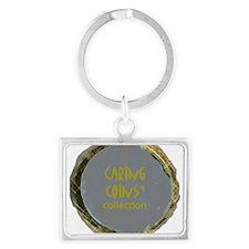20070317 Caring Coins.jpg Landscape Keychain