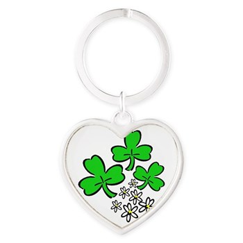 Irish Forever Heart Keychain