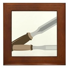 Chisels Framed Tile
