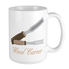 Wood Carver Mug