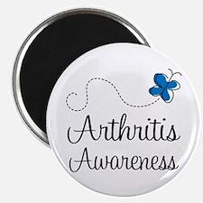 Arthritis Awareness butterfly Magnet