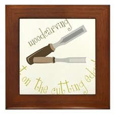 Woodcarving Framed Tile