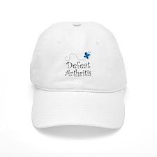 Defeat Arthritis butterfly Baseball Cap