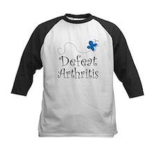 Defeat Arthritis butterfly Tee