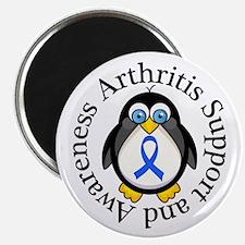 Arthritis Awareness Penguin Magnet