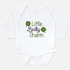 Little lucky charm Long Sleeve Infant Bodysuit