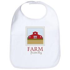 Farm Family Bib