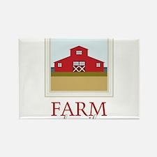 Farm Family Rectangle Magnet