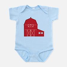 Red Barn Infant Bodysuit