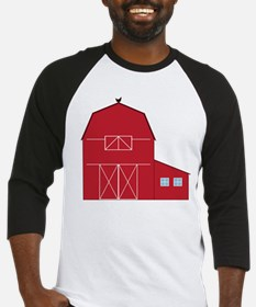 Red Barn Baseball Jersey