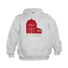Eat Sleep Farm Hoodie