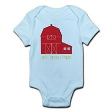 Eat Sleep Farm Infant Bodysuit