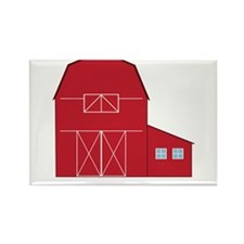 Eat Sleep Farm Rectangle Magnet