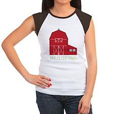 Eat Sleep Farm Women's Cap Sleeve T-Shirt