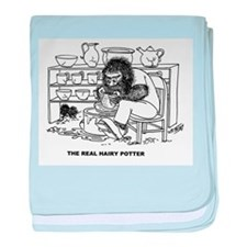 """The """"Real Hairy Potter"""" baby blanket"""