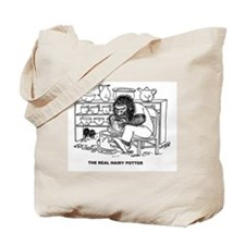 "The ""Real Hairy Potter"" Tote Bag"