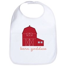 Barn Goddess Bib
