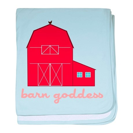 Barn Goddess baby blanket