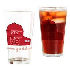 Barn Goddess Drinking Glass