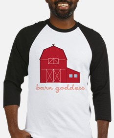 Barn Goddess Baseball Jersey